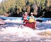 Des circuits comme celui de la rivière Gens de Terre (photo) nécessitent de l'expérience, mais il y a des trajets en eau calme plus appropriés pour une première aventure.