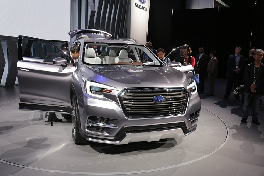 Subaru Impressionne Avec Son Concept Ascent Jdm