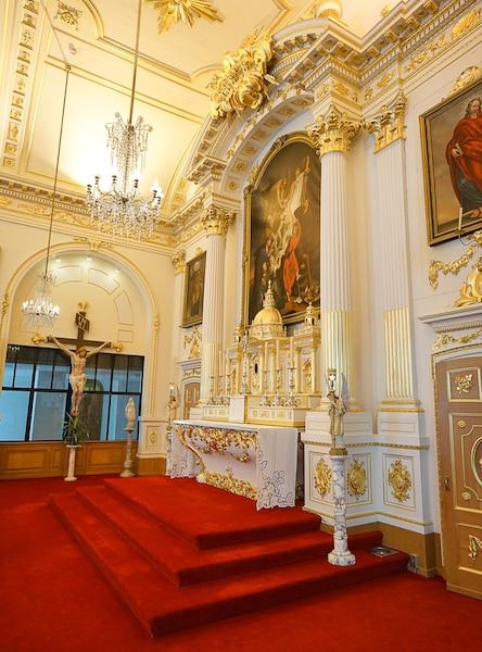 L'église dans le monastère