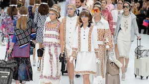 Image principale de l'article L'aéroport Chanel impressionne à la semaine de mode de Paris