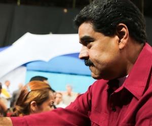 Le président vénézuélien Nicolas Maduro en préparation de l'Assemblé constituante.