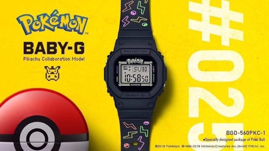 Image principale de l'article Une montre fête ses 25 ans avec... Pikachu