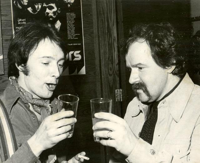 Gilbert Sicotte et Jean-Claude Labrecque.
