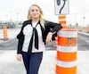 Caroline Arnouk, présidente de Technologies OPA, qui se veut un outil pour aider à réduire l'impact des travaux routiers sur les citoyens.