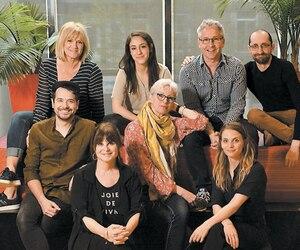 Josée Deschênes, Nathalie Doummar, Philippe Lambert, Jean-Philippe Lehoux, Steve Gagnon, Lise Roy, Guylaine Tremblay et Marilyn Castonguay.