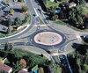Ce carrefour giratoire situé à Saint-Bruno cause des maux de tête aux piétons, dont Michel Duchesne, dont la vue a fortement baissé après un AVC.