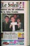 Gisèle Faubert avait fait la une du Soleil de Châteauguay le 20 février 1999.