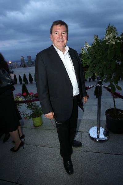 Rémy Girard, l'animateur de la soirée.