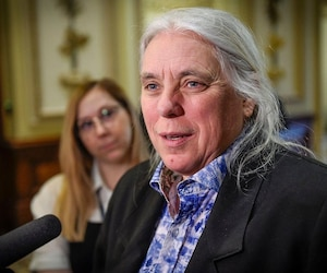 Manon Massé, co-porte-parole de Québec solidaire