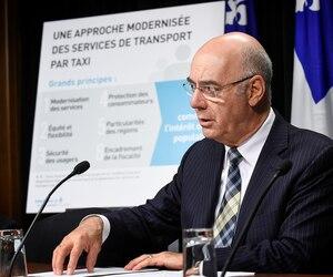 Le ministre des Transports, Jacques Daoust, a fait savoir hier que la multinationale Uber devra se soumettre aux règles comme l'industrie du taxi.
