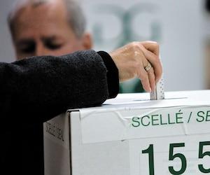 Bureau de vote - élections provinciales 2008