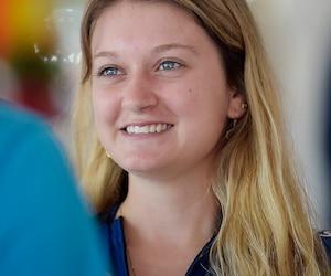 Âgée de 20 ans, Amélie Simard participe aux épreuves du Vélirium depuis plusieurs années déjà.