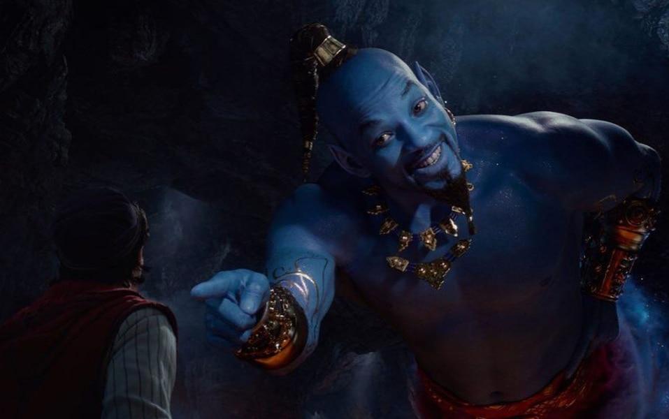 Will Smith en génie bleu fait réagir dans la première bande-annonce de «Aladdin»
