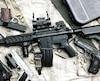 bloc arme guerre fusil militaire