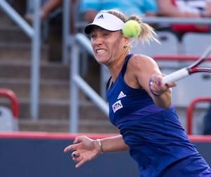 Avec le retrait de Serena Williams, Angélique Kerber devient l'athlète à vaincre à la Coupe Rogers de Montréal.