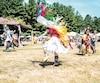 Les danses traditionnelles, la musique et les couleurs ont impressionné les visiteurs lors de la première journée du traditionnel Pow Wow de Kanesatake, samedi.
