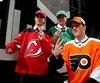 Nico Hischier, Nolan Patrick et Miro Hèiskanèn ont été les trois premiers joueurs choisis hier par les Devils du New Jersey, les Flyers de Philadelphie et les Stars de Dallas, respectivement.