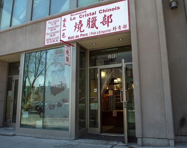Le restaurant pour emporter de Montréal a reçu 10amendes en mars dernier pour des problèmes de salubrité.