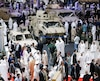 Le plus important salon de l'armement du Moyen-Orient a ouvert ses portes dimanche à Abou Dhabi, aux Émirats arabes unis.