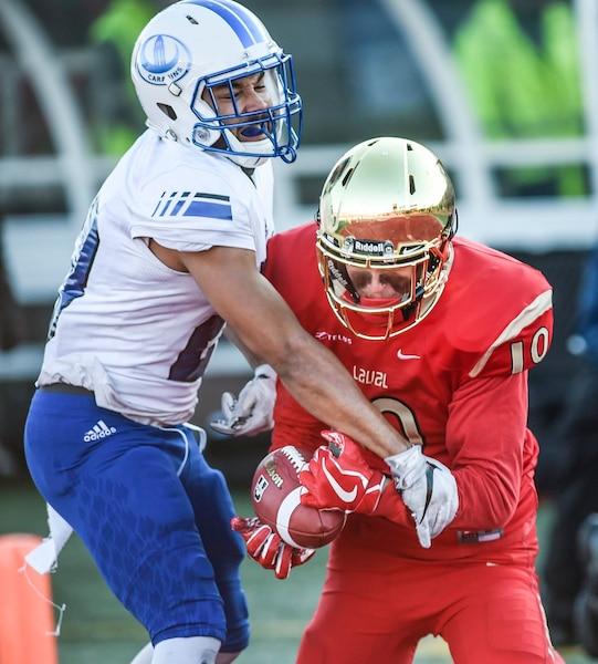 Les deux équipes croisaient le fer pour une cinquième année consécutive en finale universitaire québécoise, et le Rouge et Or a eu le dessus trois fois.