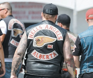 GEN-HELLS ANGELS AU CANADA RUN