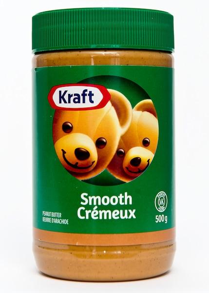 Beurre d'arachide: Le bien connu beurre d'arachide Kraft ne pourra plus afficher les deux oursons sur son étiquette.
