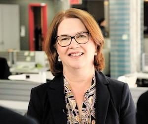 L'ex-ministre libérale et démissionnaire Jane Philpott a accordé une entrevue à des médias de Québecor, mercredi, à Ottawa.