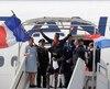 L'arrivée triomphale des Bleus à Paris.