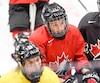 Mélodie Daoust (15) espère pouvoir aider le Canada à remporter une cinquième médaille d'or de suite aux Jeux olympiques.