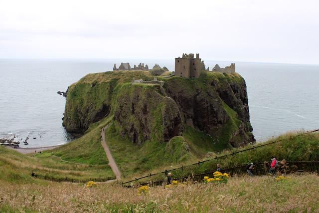 Le château Dunnottar.