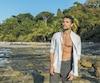 Olivier Dion a passé 15 jours sans eau ni nourriture sur une île déserte pour The Island célébrités, une téléréalité du réseau M6.