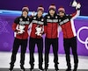 Charle Cournoyer, Pascal Dion, Samuel Girard et Charles Hamelin