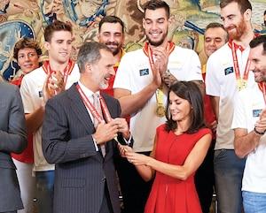 Image principale de l'article Le roi Felipe VI d'Espagne: fan de basket!