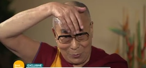 Image principale de l'article  Le dalaï-lama se moque de Donald Trump
