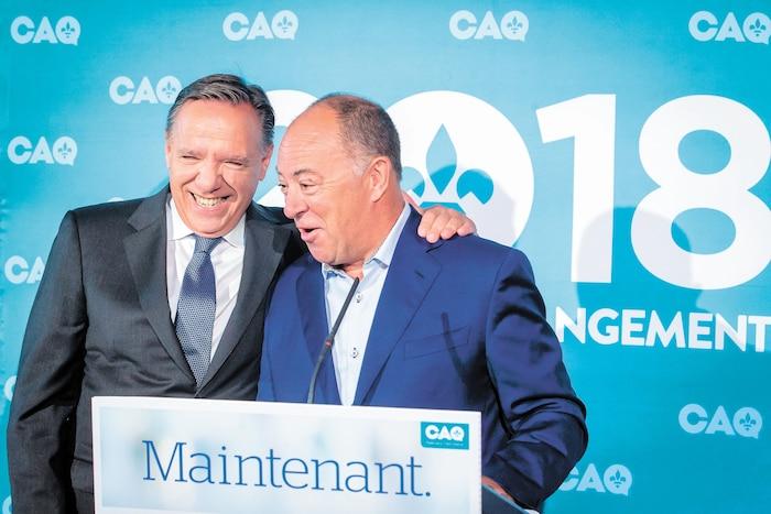 POL-ELECTIONS PROVINCIALES 2018-CAQ-DUBE
