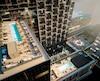 À Toronto, l'achat de condos par des investisseurs étrangers a fait exploser la valeur des propriétés. Ce serait également le cas au Québec, mais sans données fiables, impossible de le confirmer. Sur la photo, le projet Humaniti, en développement dans le centre-ville de Montréal.