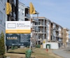 Même si les mises en chantier de logements locatifs sont en baisse dans la région de Québec, elles restent trop élevées aux yeux de la SCHL.