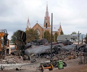 Le 6 juillet 2013, un train de la MMA a explosé à Lac-Mégantic, faisant 48 victimes.
