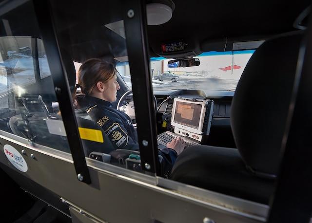 Le Service de police de la ville de Québec (SPVQ) a commencé à renouveler son parc de véhicules.