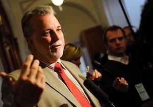 Avec Philippe Couillard comme chef, les libéraux seraient à égalité avec le Parti québécois si des élections avaient lieu aujourd'hui.