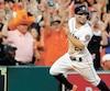 Jose Altuve, des Astros de Houston, a encore été un élément important de son équipe en série de division face aux Indians de Cleveland.
