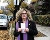 Susan Steiner fait partie des33 citoyens de la petite avenue Clanranald qui ont reçu un constat d'infraction de62$ pour stationnement illégal.