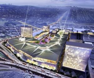 Le promoteur Carbonleo espère inaugurer le mégacomplexe commercial Royalmount d'ici 2021. Le coût du projet est estimé à 1.7 G$.