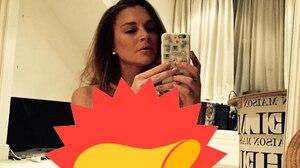Lindsay Lohan publie une photo d'elle nue