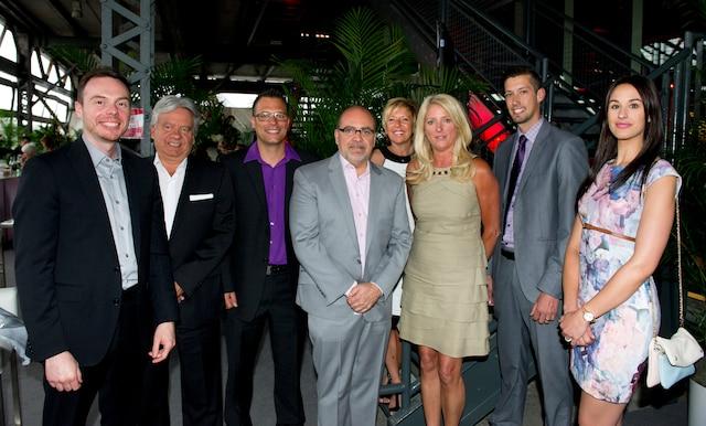 Le Groupe Albi Mazda était représenté par Jérôme Boudreault, Marc Belley, François Gagnon, Denis Leclerc, Chantal Blain, Louise Villeneuve, Jocelyn Brière et Maude Provost.