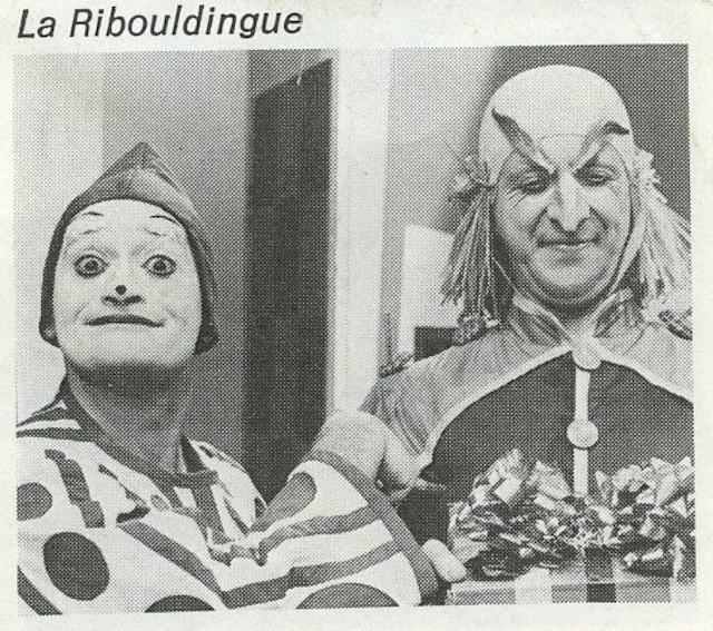 La Ribouldingue série jeunesse de 1967 à 1971 à Radio-Canada LES ARCHIVES / LE JOURNAL DE MONTREAL