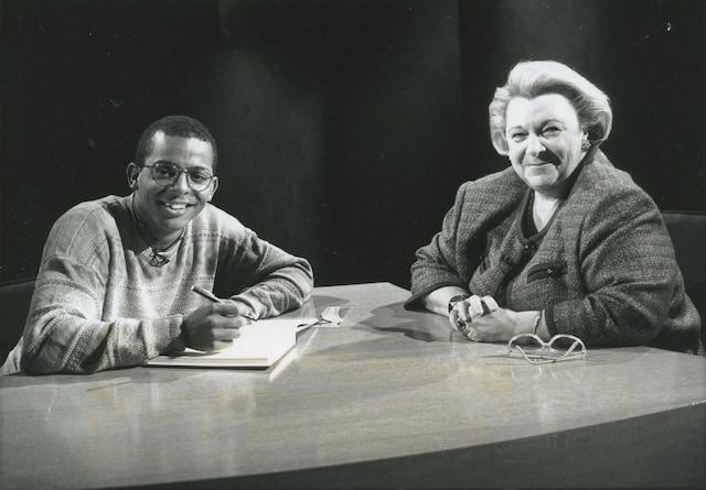 Gregory Charles et Lise Payette.