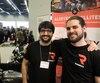 Victor Bursucianu et Marc Larin, cofondateurs de RideMetry, ont uni leurs connaissances pour créer une boîte noire ( photo de droite ) qui peut envoyer des alertes en cas d'accident de motocyclistes.