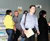 Le médecin Vincent Simard à son deuxième jour de procès hier au palais de justice de Drummondville.