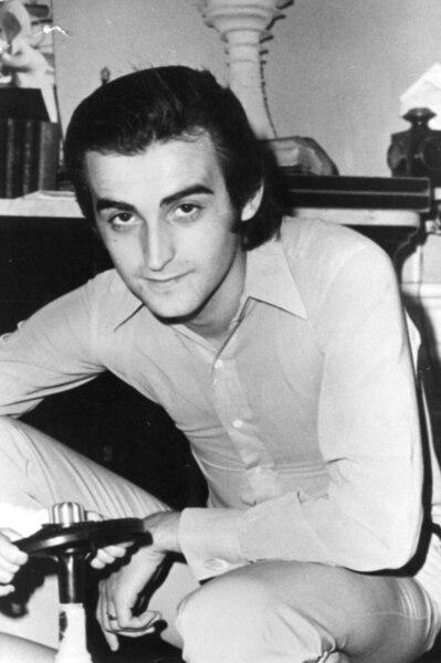 Le chanteur lors d'une visite au Québec, en 1968.